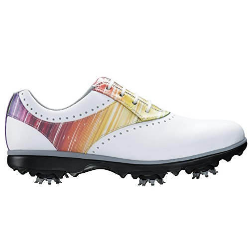FootJoy eMerge Women's Golf Shoes 93901 White/Rainbow - 9.5 MEDIUM