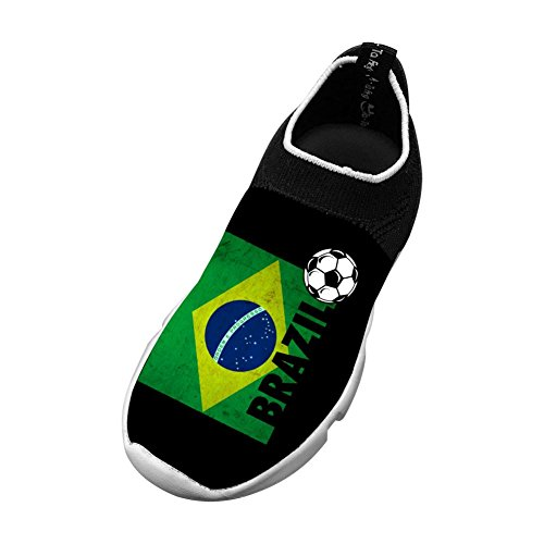 Vchat Fly knit Leisure Shoes BRAZIL Soccer Fashion Leisure For Youngster Boy Girl