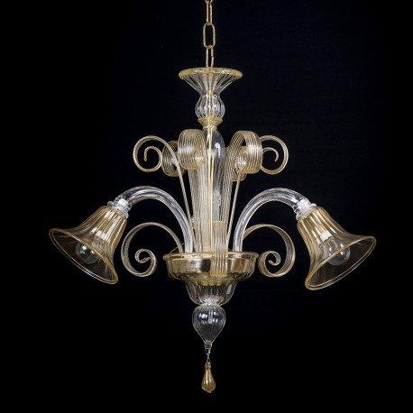 Artemis Mignon lampadario in vetro di murano 3 luci: Amazon ...