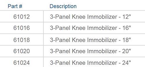 Exclusive Brand 18\ FitPro Adjustable Post-Op Knee Immobilizer