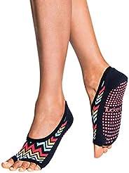 Tucketts Ballerina Toeless Non-Slip Grip Socks, Ballet Flat Style