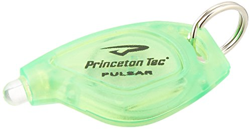Princeton Tech Pulsar Translucent Lamp, Yellow with Green LED