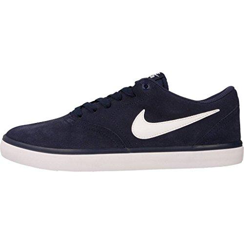 Nike Sb Herren Controllo Solare A Bassa-top Azul (azul (midnight Navy / Bianco))