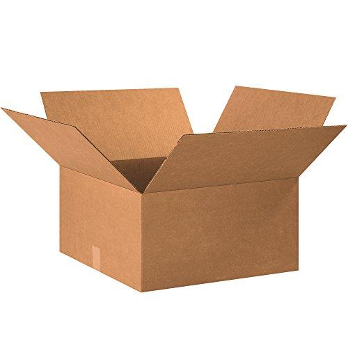 """BOX USA B202010 Corrugated Boxes, 20"""" x 20"""" x 10"""", Kraft (Pack of 15) from BOX USA"""