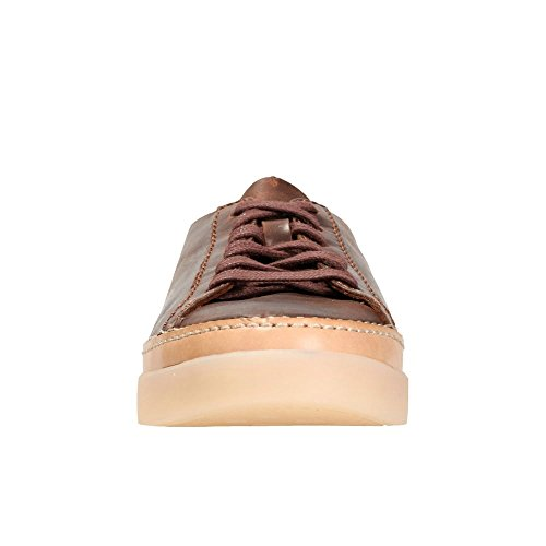 Holly Femme Sneakers Clarks Hidi Brun Basses Zw1P0