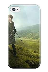 Fashion Tpu Case For Iphone 4/4s- Outlander 2014 Tv Series Defender Case Cover
