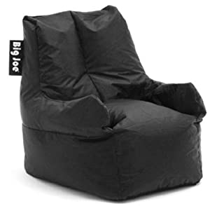 Amazon Com Big Joe Club 19 Bean Bag Chair Color Stretch