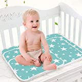 Toddler Infant Waterproof Changing Pad - Breathable Urine Mat Menstrual Pads for Children and Adults Pack of 3 (L(23.6 x 29.5 Inch))