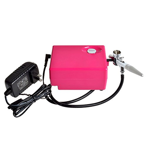 Elera Updated Version Airbrush Makeup System Kit Beauty Cosmetic 3 Level Pressure Adjustable