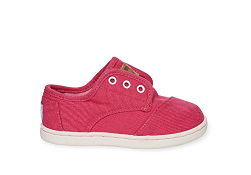 - TOMS Fuschia Canvas Tiny Paseos 10002687 (SIZE: 2D)