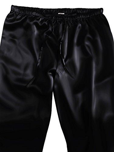 Larga Negro Momme 2 Ellesilk 100 Piezas De Pijamas Mujer Conjunto Verano 22 Manga Seda Invierno Hipoalergénico 8OZAXqnrO