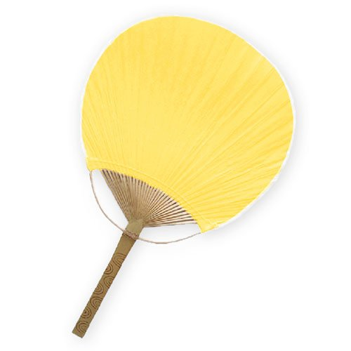 Weddingstar Paper Paddle Fan, Sunflower