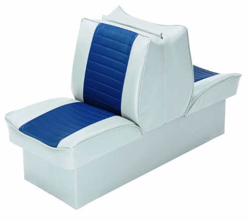 Wise 8WD521P-1-660 Deluxe Lounge Seat  (Grey/Navy) (Wise Lounge)