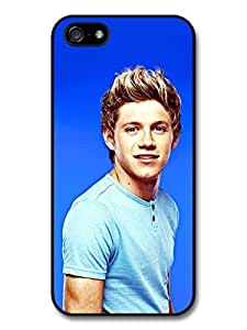 Niall Horan Blue Background One Direction 1D Directioner case for iPhone 5 5S A671