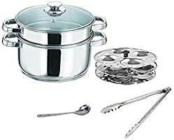 Save 20% on steamer set with lid serving spoon and tong