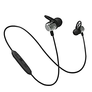 pTron BassFest Evo InTunes, Magnetic in-Ear Bluetooth 5.0 Wireless Headphones, Immersive Sound with Bass, Snug-fit…
