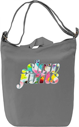 Slow Jams Borsa Giornaliera Canvas Canvas Day Bag| 100% Premium Cotton Canvas| DTG Printing|
