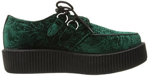 Mondo Green Women's U K Oxford Creeper T V9098 Viva 81Xwq