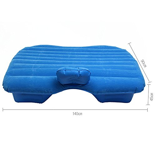 Edxtech PVC Inflatable Travel Camp In-Car Air Bed Mattress Sleeping Rest Pad Car Bed by Unknown (Image #1)