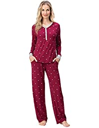 Pajamas for Women - PJ Sets for Women, Whisper Knit