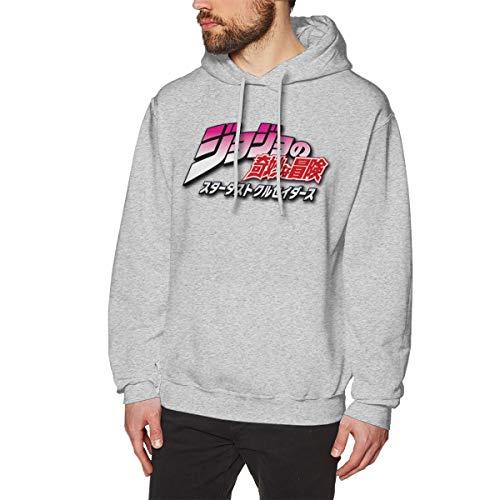 Days Classic Baseball Black JoJo's Bizarre Adventure Stardust Crusaders Logo SweaterGray XL