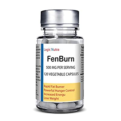 FenBurn 120 Introductory price Rapid Fat Burning Diet Pills With Increased Energy - Vegetable capsules 120 per bottle - Clinically Proven Weight Loss Ingredients Made in USA
