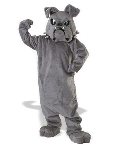 Rubie's Costume Bulldog Mascot Costume, Grey, One Size