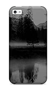 For Iphone 5c Tpu Phone Case Cover(reflection)