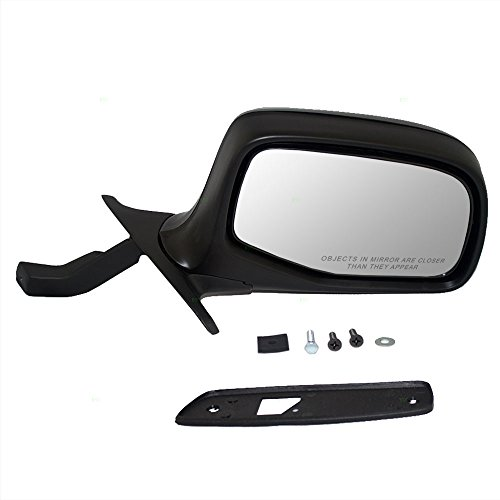 - Passengers Manual Side View Paddle Type Mirror Replacement for Ford F7TZ17682AAA AutoAndArt
