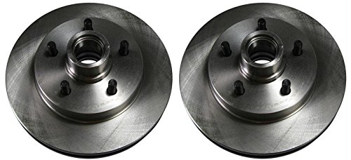 Front Brake Rotors Pair for Chevy GMC Suburban C/K Pickup Truck 2WD 2x4