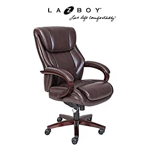 La-Z-Boy Bellamy Executive Office Chair - Coffee