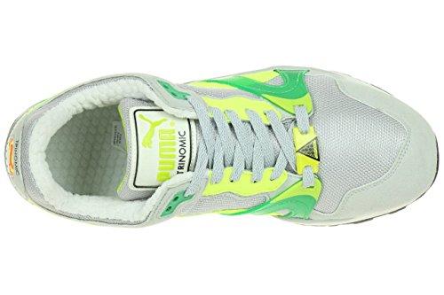 pour yellow fluro course Puma homme Gris de gray Gris glacier Chaussures qRzftza6