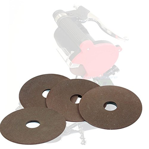 "(Lot 4) Chainsaw Sharpener Replacement Grinding Wheel 7/8"" Arbor Sharpening 4-1/4"""