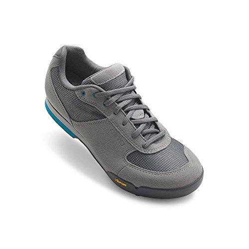 Giro Petra Vr Womens MTB Shoes Titanium/Blue Jewel 40