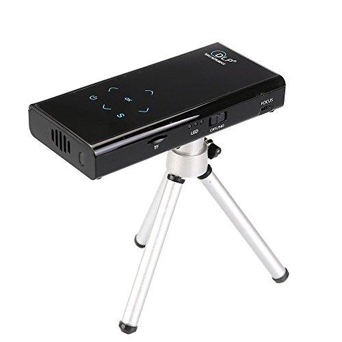 Flylinktech e06s mini projector wifi bluetooth wireless for Mini projector for ipad best buy