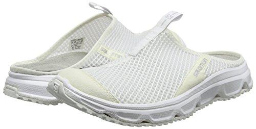 De 0 Chaussures Salomon Pied Blanc Trail Mtallis x blanc Adult Course Rx 3 Slide Unisexe Argent UqqzWdA