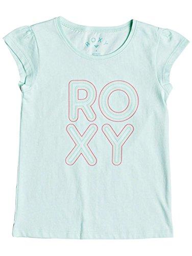 Roxy Girls Bubble Typo T-Shirt - Blue