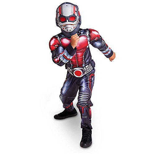 Disney Store Deluxe Ant Man Antman Light Up Costume Kids Size XS Extra Small 4 (Four Element Costumes)