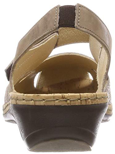 Damen Mittelbr 21 abbronzatura Cavallo 720115 Comfortabel fionda p1wdpq