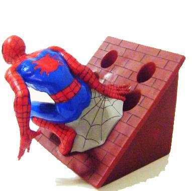 Spiderman Toothbrush Holder