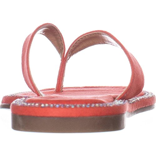 Formal Slide Thalia Fabric Sodi Toe BEDAF Sandals Open Womens Coral aBaqY1w