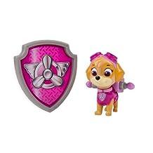 Paw Patrol Nickelodeon, -Action Pack Pup and Badge-Skye