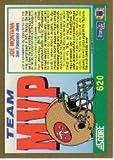 1991 Score #620 Joe Montana MVP Near Mint/Mint