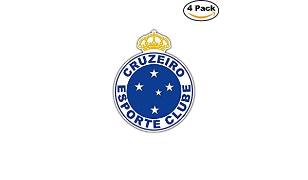 Amazon.com: Cruzeiro Esporte Clube FC Brazil Football Soccer Car Bumper Sticker Decal 4X5