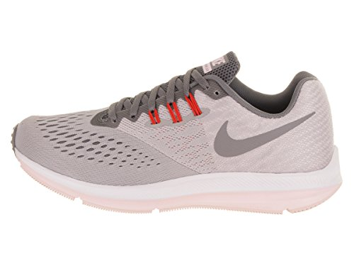 Running Femme m Nike Chaussures Compétition Pink de Winflo 4 Zoom WMNS Grey 8P8aY
