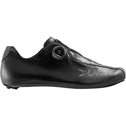 厄介なフレア弾薬湖cx301 Xtra Wide Cycling Shoe – Men 'sブラック、43.5