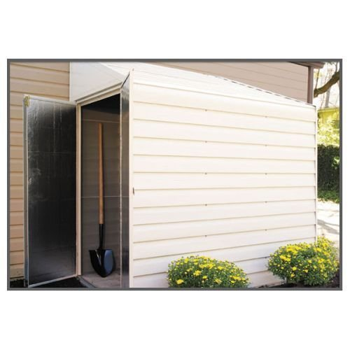 Arrow Shed YS47 Yardsaver 4' x 7' Steel Eggsheel w/ 38.5'' x 60.25'' Door --P#EWT43 65234R3FA214841 by Lisongin