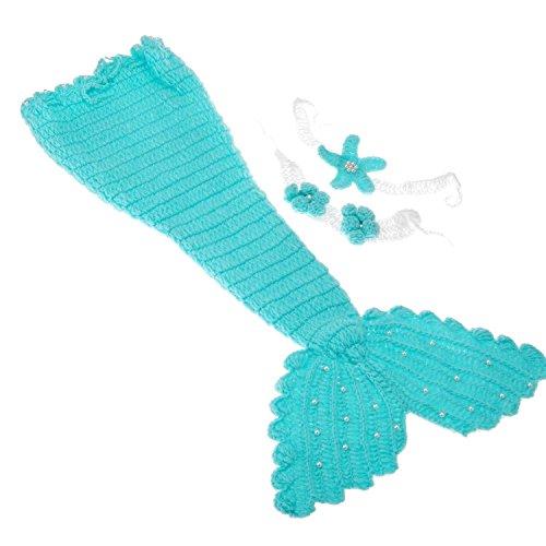 Newborn Sunshine Knitted Mermaid Hairband product image