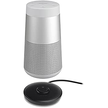 bose grey speakers. bose soundlink revolve bluetooth speaker, single, lux gray - with charging cradle for grey speakers k