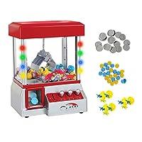 TSF juega la máquina electrónica del Grabber del juguete de la garra con las luces LED y los juguetes